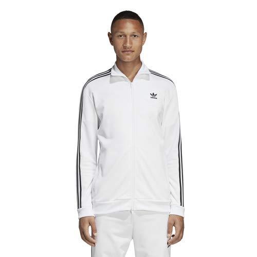 adidas Originals Men's Franz Beckenbauer Track Top White Large by adidas Originals