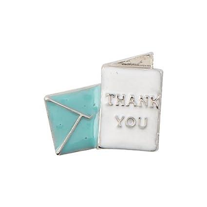 Amazon Origami Owl Thank You Card Charm Everything Else