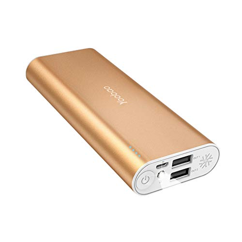 Portable Charger 10000mAh, Yoobao Dual USB Power Bank External Battery...