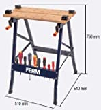 Ferm WBM1004 Clamping Workbench, 150 kg
