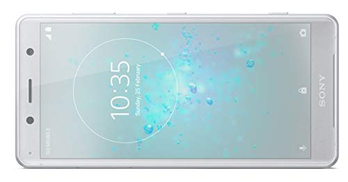 Sony Xperia XZ2 Compact H8314 64GB 5.0 Factory Unlocked Smartphone International Version 4G LTE (White Silver)