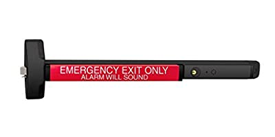"Yale 6100ED-A-ALR x 630 Emergency Exit Alarmed Device, Metal, 36"" Length"