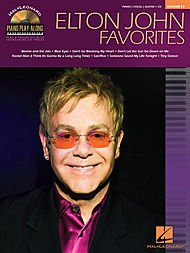 Hal Leonard Elton John Favorites - Piano Play-Along Volume 77 (CD/Pkg) arranged for piano, vocal, and guitar (P/V/G) Pkg Each Sheet