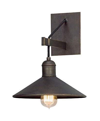 Incandescent Troy Sconce (Troy Lighting B5421: One Light Wall Sconce, 12.5