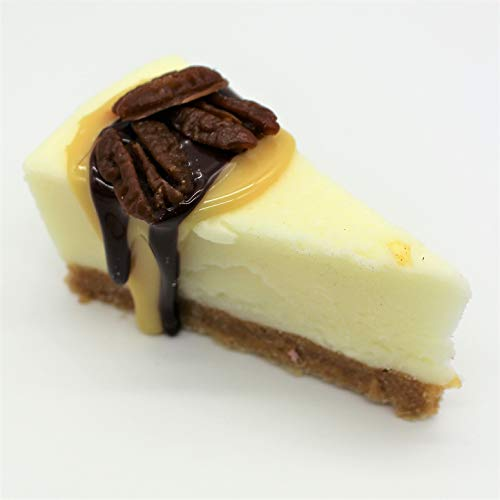 Just Dough It Fake Slice of Turtle Cheesecake