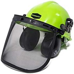 [해외]Greenworks GWSH0 Chainsaw Safety HelmetEarmuffs (Renewed) / Greenworks GWSH0 Chainsaw Safety HelmetEarmuffs (Renewed)