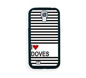 Love Heart Doves Samsung Galaxy S4 I9500 Case - Fits Samsung Galaxy S4 I9500