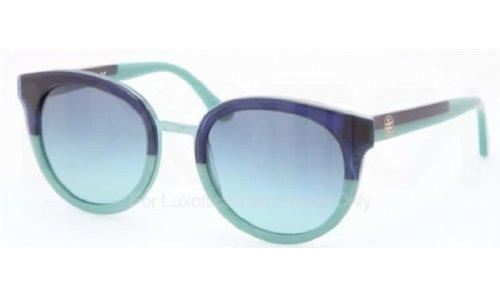 Tory Burch Women's TY7062 Navy-Mint/Blue Teal Gradient - Usa Sunglasses Online