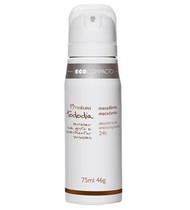 Natura Tododia Antiperspirant Deodorant Aerosol Macadamia 75
