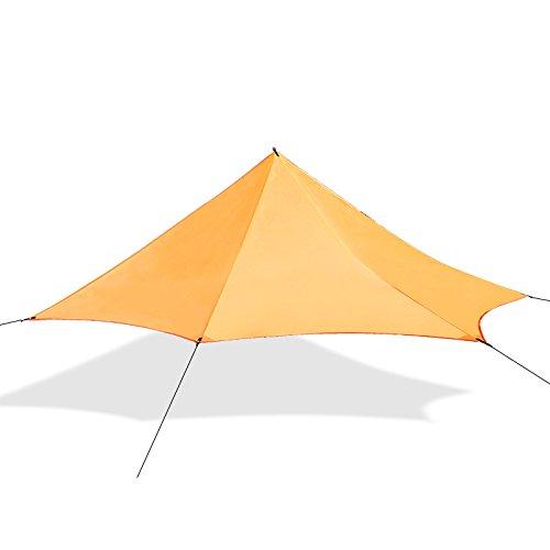 Motomo Camp Shelters Tents Tarp pentagonal pyramid shape - Shape Pentagonal