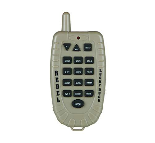 Lucky Duck Rebel Predator Electronic Caller with Decoy