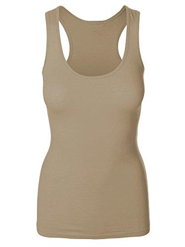Emmalise Womens Athletic Active Basic Yoga Gym Tank Top Tee Tshirt - S - 3XL