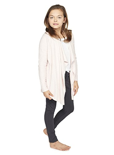 BAREFOOT DREAMS BCL YOUTH HEATHERED CALYPSO WRAP (6-8, Petal/ Pearl)