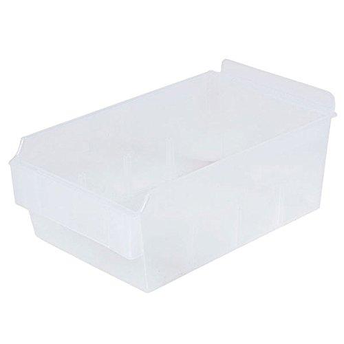 Retail Clear Shelfbox Style 200 measures 9.25''d x 5.51''w x 3.74''h by Shelfbox