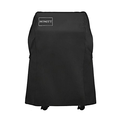 Homitt 7105 Grill Cover, 600D Oxford Fabric 30-inch BBQ Grill Cover with UV and PVC Coating for Water Resistant, Wind Resistant and UV Resistant by Homitt