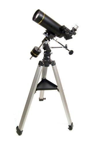 Levenhuk 30075 Levenhuk 30075 Skyline PRO 80 MAK Telescope Maksutov-Cassegrain 80 mm equatorial mount (Black)