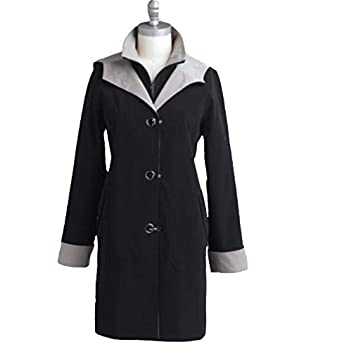 delicate colors recognized brands so cheap Amazon.com: Laura Scott Women's Winter Fall Light Trench ...