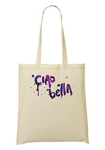 Ciao Bella Expression Series Italian Hi Beautiful Guys Talk Bolso De Mano Bolsa De La Compra
