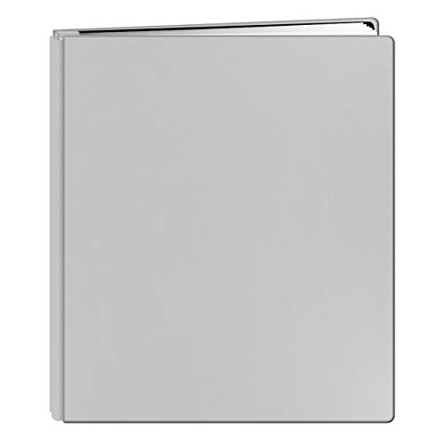 Pioneer Photo Albums 20-Page Family Treasures Deluxe White Bonded Leather Cover Scrapbook for 8.5 x 11-Inch Pages