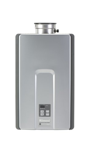 Rinnai R75LSi Natural Gas Indoor Tankless Water Heater, 7.5 GPM