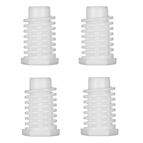 Leveling Feet for Dryer and Washer - Leveling Foot Peg for Whirlpool Kenmore Maytag Dryer Washer, Replacement for the Part# 49621 AP4295805 PS1609293, 4 Pack