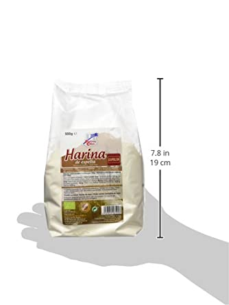 La Finestra Sul Cielo Harina de Espelta - 500 gr: Amazon.es: Alimentación y bebidas
