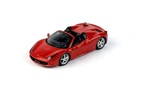 Ferrari 458 Italia Spider, Red 2012 Road Car, Fujimi TrueScale Miniatures FJM1243020  Resin  1/43