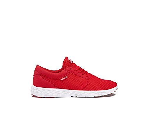 Supra Red white Shoe Skate Run Hammer Risk rXxwZ6rq