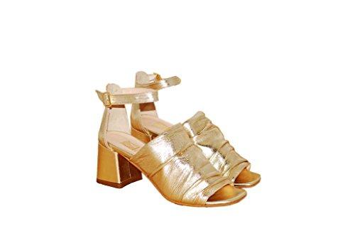 Sandalen Sandaletten aus Leder Schuhe Damen RIPA shoes - 36-31