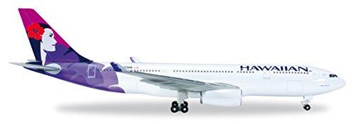 Herpa 519137-001 Hawaiian Airlines Airbus A330-200 1:500 Scale REG#N373HA Kukalani'ehu Livery