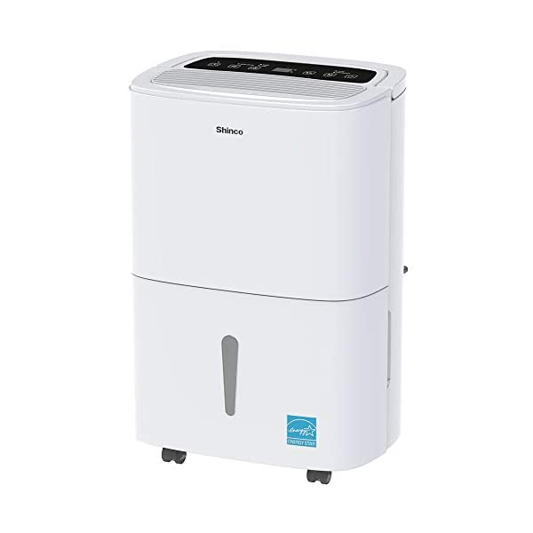 SHINCO 2019 New Model Dehumidifiers for Rooms Up to 1500-5000 sq.ft