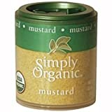 Simply Organic Mustard Seed Ground Certified Organic, .46-Ounce Containers (Pack of 6) ( Value Bulk Multi-pack)