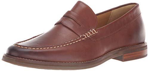 (Sperry Men's Gold Cup Exeter Penny Loafer, Tan 10.5 M US)