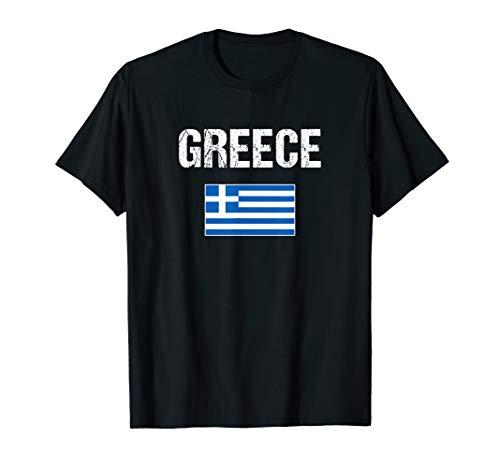 Greece T-shirt Greek Flag Shirts - For Men/Women/Youth/Kids
