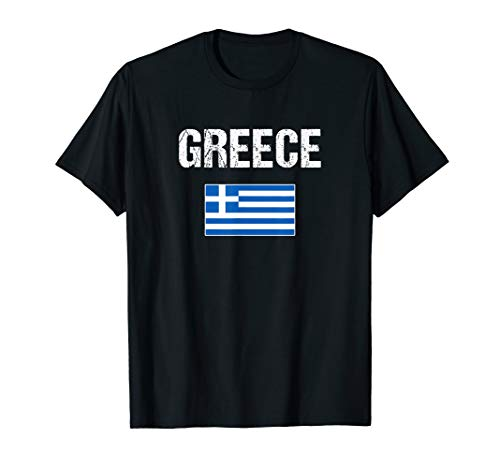 Greece T-shirt Greek Flag Shirts - For -