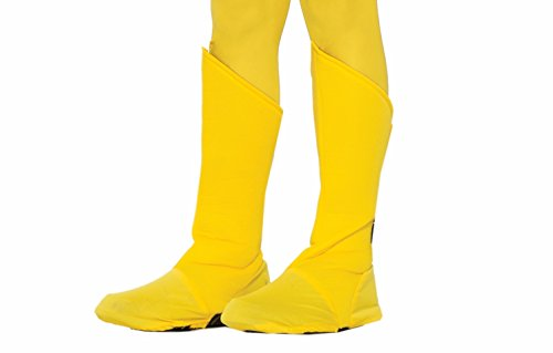 Forum Novelties Child Hero Boot Covers, Yellow ()