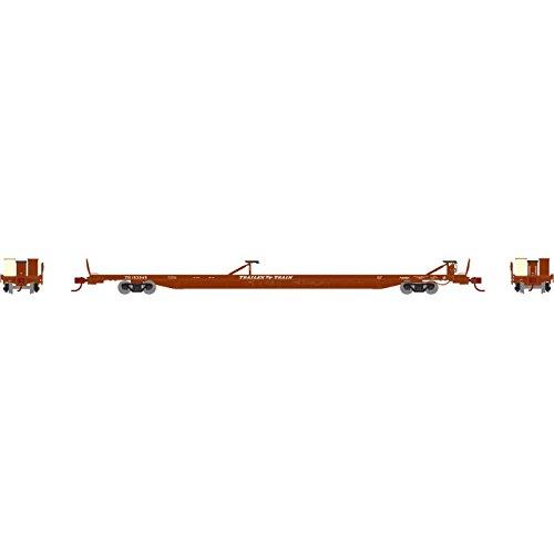 Athearn ath14303N f89-f89` 8` TofC Flat Car  TTX /ブラウン# 153245