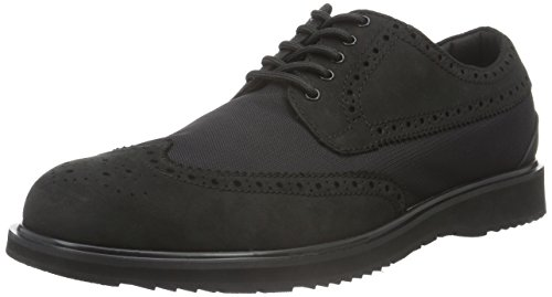Swims Barry Brogue Low Classic Men US 9 Black Wingtip Oxford by SWIMS