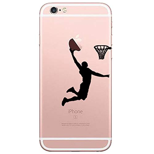 Basketball Patten TPU Case for iPhone SE with Finger Ring Stand Free,Protective Bumper for iPhone 5 5s (5 Grip Iphone Case Basketball)