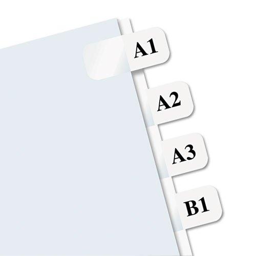 Redi-Tag - Laser Printable Index Tabs, 7/16 x 1, White, 675/Pack 39000 (DMi PK