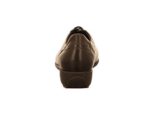 Zapatos Schw Mephisto mujer Sabi de para Negro cordones wFEBpvEUxq