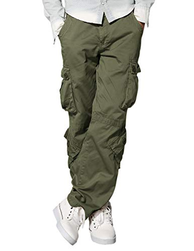 Match Men's Wild Cargo Pants(29,R-Green)]()