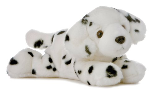 Aurora World Flopsie Plush Domino Dog, 12