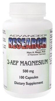 Nutrient Carriers - 2-Aep Magnesium, 500 mg, 100 capsules (Magnesium 2aep)