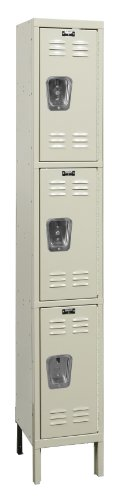 Hallowell U1228-3A-PT Premium Locker, 12
