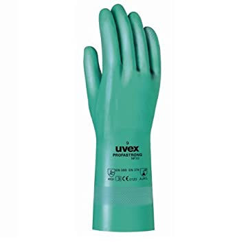 Uvex Schutzhandschuh gegen chemische und mechanische Risiken 6012207 Uvex Safety