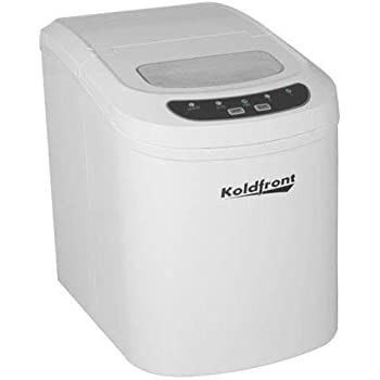 Koldfront KIM202W Ultra Compact Portable Ice Maker - White