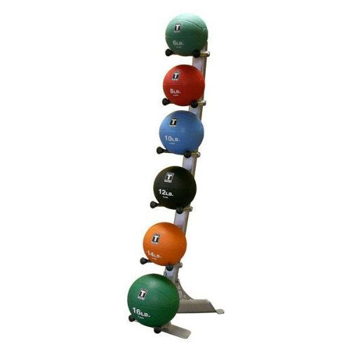 Rack with Medicine Balls by Body-Solid