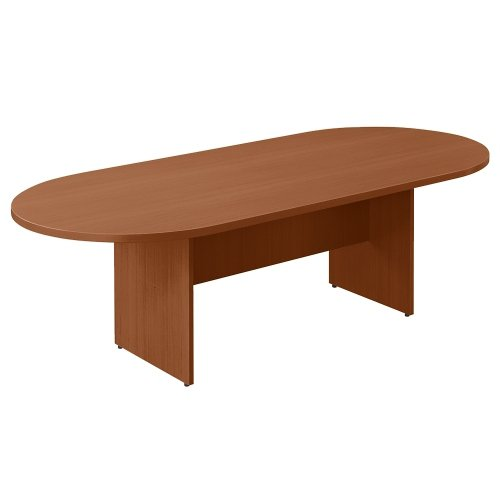 6' Racetrack Conference Table Dark Cherry ()