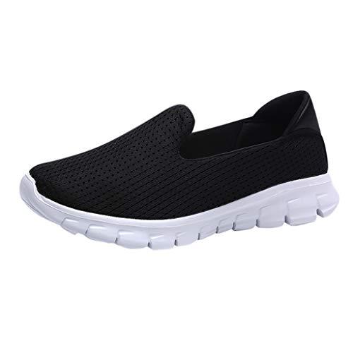 Loosebee Women's Athletic Walking Shoes Casual Mesh-Comfortable Work Sneakers
